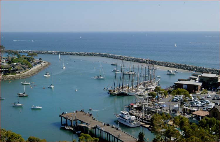 Fine restaurants, historic museums, exciting activities, Dana Point Harbor, Orange County, California's Coast